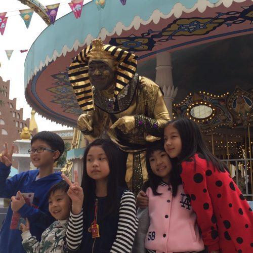 埃及王雕像